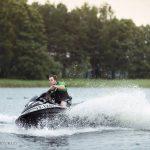 Vandens motociklo greitis